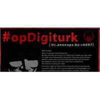 Anonymous Digiturk'ü Hack'ledi!