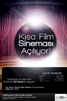 Türkiye'nin İlk Kısa Film Sineması Açılıyor!