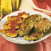 Sebzeli Burger Ve Baharatlı Patates