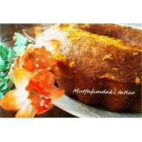 Portakal Soslu Kek Mutfak Ve Tatlar