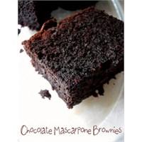 Çikolatalı Mascarponelu Brownie