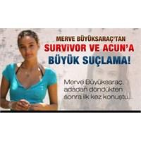 Survivor'da Yemek Yemek Duş Almak Serbest