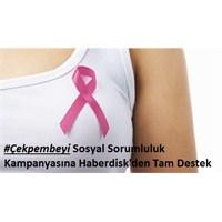 Memeder Çek Pembeyi Pembe Afiş Kampanyası