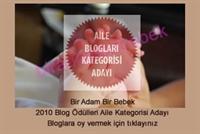 Bir Adam Bir Bebek 2010 Blog Ödüllerinde Aday