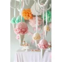 Külahta Dondurma Şeklinde Süsler Nasıl Yapılır ?