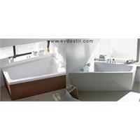 Duravit'ten Dar Banyolara Küvet