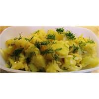 Hardal Soslu Patates Salatası