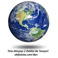 2 Dakikada Dünyayı Tanıyın; Sanal Dünya Turu!