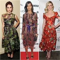 2012 İlkbahar/ Yaz Desenli Kıyafetler