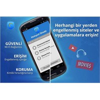 Hotspot Shield İle Android'e Geldi