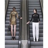 Yürüyen Merdivende Moda