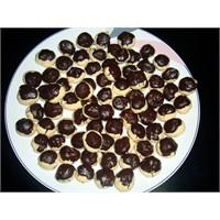 Cevizli Çikolatali Kurabiye