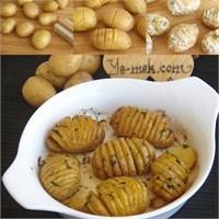 Fırında Tereyağlı Taze Patates