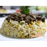 Kırmızı Mercimekli Nohutlu Pirinç Pilavı