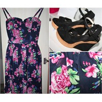 Ne Giydim: Mudo Floral Desenli Elbise