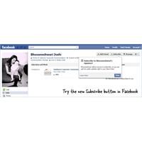 Facebook Profiline Abone Butonu Ekle