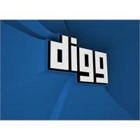 Digg'in Yüzü Değişiyor