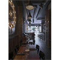 44th Hill Design'dan Londra Chop Shop Restaurant