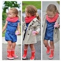 En Güzel Gap Kız Çocuk Kıyafet Modelleri