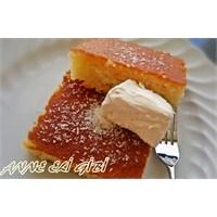 İftar İçin: Kaymaklı Portakallı Revani