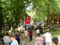 İstanbuldaki Artvinliler Belgrad Ormanlarındaki Pi