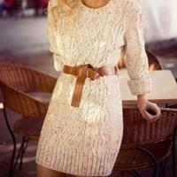 Triko Elbiselerle Sıcacık Kış Kombinleri