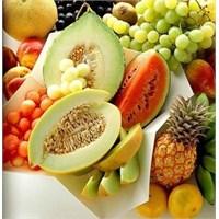 Sofrada Sebze Ve Meyve Mutlaka Bulunsun
