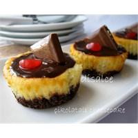 Porsiyonluk Çikolatalı Cheesecake..Disalce