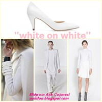 Sezon Trendi : White On White !