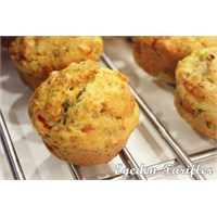 Cevizli Biberli Muffin