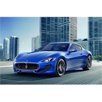 Maserati Granturismo Sport Türkiye'de!