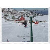 Saklıkent'te Kayak Yapmak (Antalya)