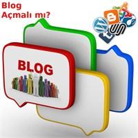 Blog Açmalı Mı?