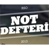 Rso Not Defteri [İii]