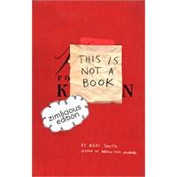 Bu, Bir Kitap Değil!