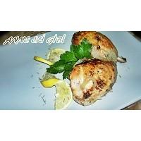 Fırında Limonlu Biberiyeli Tavuk