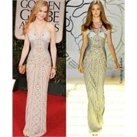 Versace'nin Zımbalı Elbiseleri
