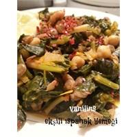 Ekşili Ispanak Yemeği Nasıl Yapılır