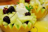 Kavunda Meyveli Dondurma