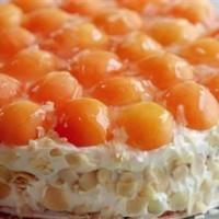 Malatya Kayısısı İle Özel Yaş Pasta
