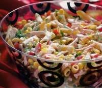 Makarna Salatası (diyet Salata)
