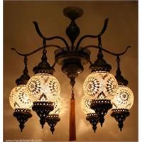 Mozaik Lambalarla Evinize Ambiyans Katın!