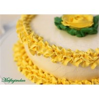 Limonlu Fırfır Pasta