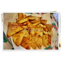 Peynirli Muska Böreği Kızartması