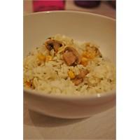 Körili Mantar Misirli Pirinç Pilavi