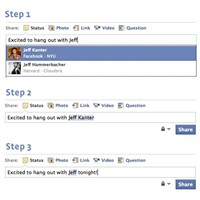 Facebook'ta Arkadaşları Etiketlemenin Yeni Yolu