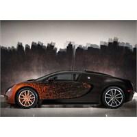 Bugatti Veyron'a Sanatçı Dokunuşu!