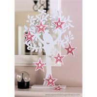 Yılbaşı Ağacınıza Yıldız Süs Yapabilirsiniz