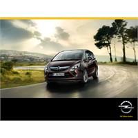 2012 Yeni Opel Zafira Tourer Teknik Özellikleri Ve