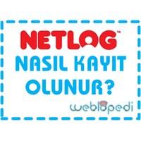 Netlog'a Nasıl Kayıt Olunur?